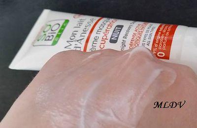 Zoom sur l'une des nouveautés So'Bio Etic : La crème masque récupératrice nuit