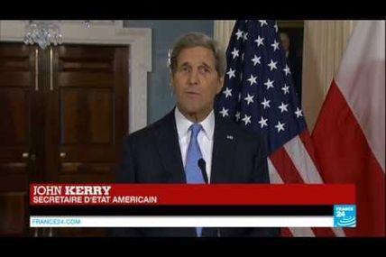 Merci et Bravo John Kerry. Déclaration du...