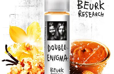 Test - Eliquide - Double Enigma de chez Beurk Research