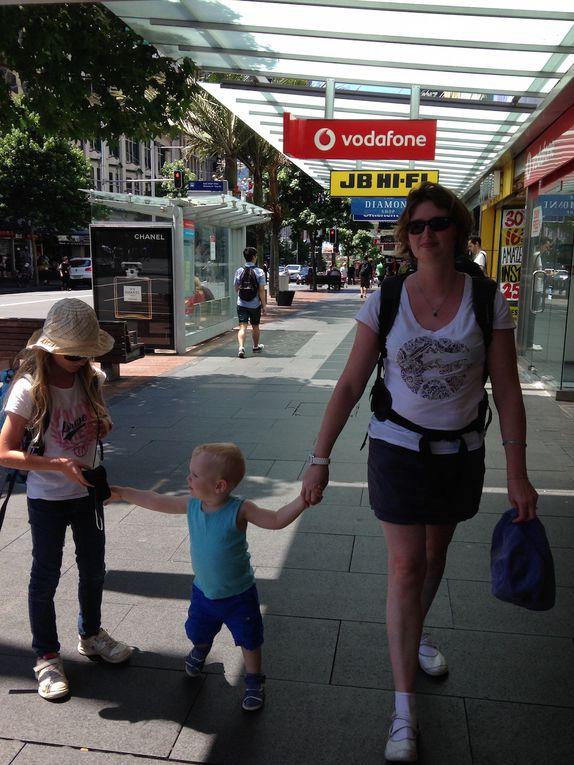 Jour 2 - Skytower et visite du centre d'Auckland