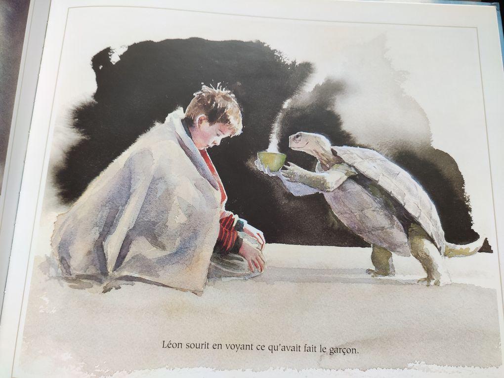 Les trois questions. D'après Léon Tolstoï. Jon J. MUTH – 2003 (Dès 8 ans)