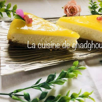 Cheesecake aux citrons 🍋