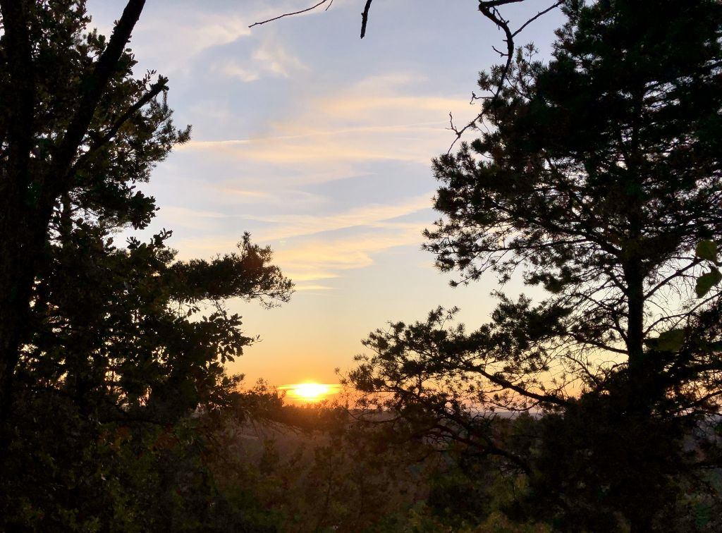 Couchers de soleil sur Puys d'Ayen
