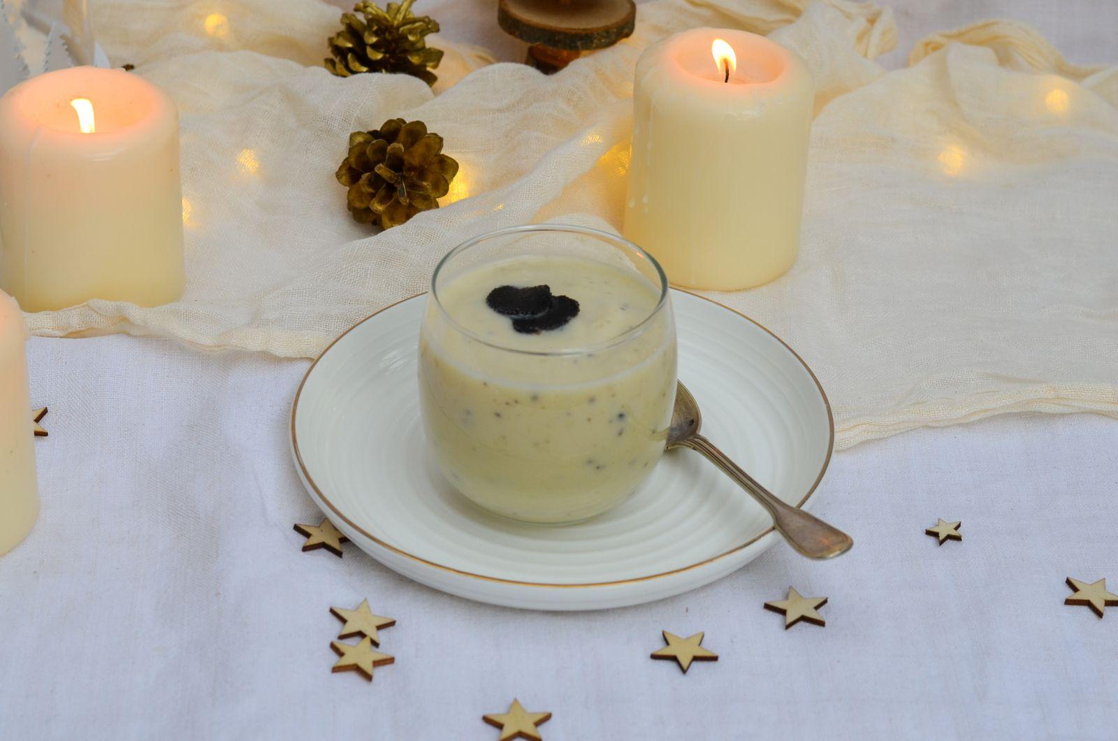 Crème de chou-fleur aux truffes