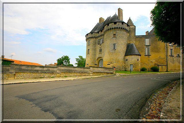 Diaporama château de Barbezieux-Saint-Hilaire