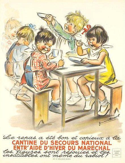 PUBLICITES : LES GRANDS NOMS DE L'AFFICHE... Germaine BOURET.