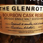 THE GLENROTHES Bourbon Cask Reserve - Passion du Whisky