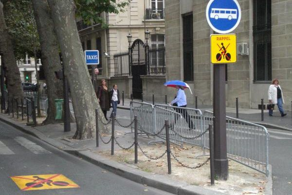 Ex-pistes cyclables?...
