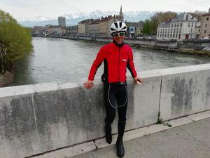 Mon premier (qui sera le seul) 200 de l'année avec JC à Grenoble le 6 avril