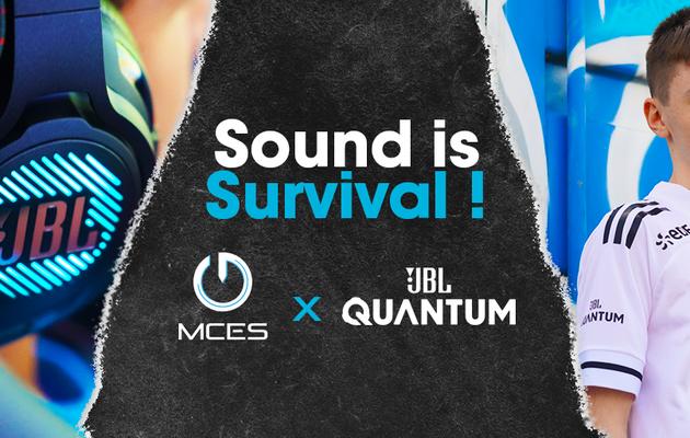 [ACTUALITE] MCES - L'équipe esportive professionnelle et JBL Quantum s'associent