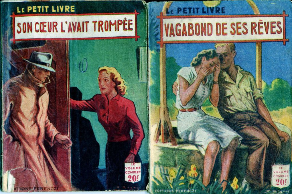 Petits romans d'amour des années 1950