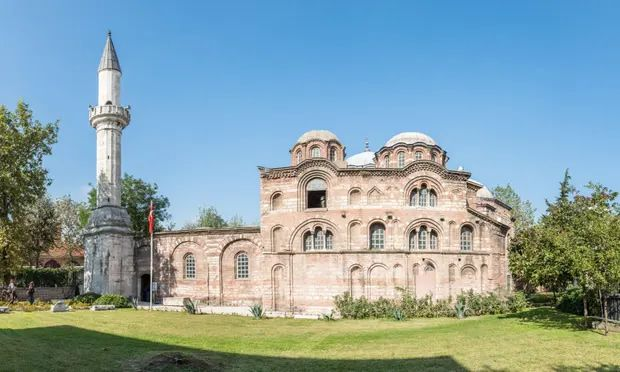 The Fethiye Camii (St Mary Pammakaristos church), one of the buildings that Cyril Mango studied in Istanbul. Photograph: agefotostock/Alamy
