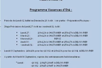 """Cahiers de Vacances """"été 2012"""" -16 Masculins VHB..."""