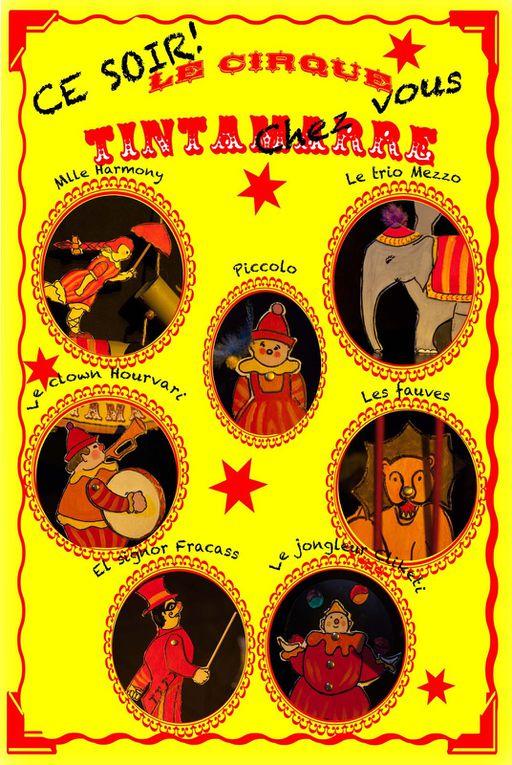 Un nouveau spectacle de marionnettes : Le cirque Tintamarre