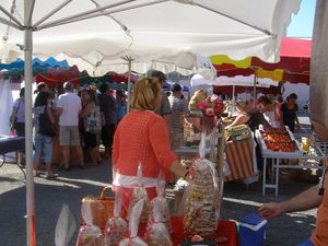 Faire son marché au chaud à Capvern Village
