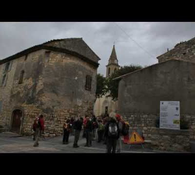 RANDONNEE BLAUZAC : LES CAPITELLES - LE VALLON DES PONTILS. DE BONS SOUVENIRS......