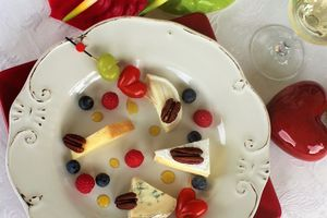 Assiette Fruits & Fromages, touche de Miel