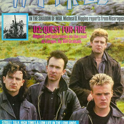 U2 -Magazine Hot Press - 30 Novembre 1984