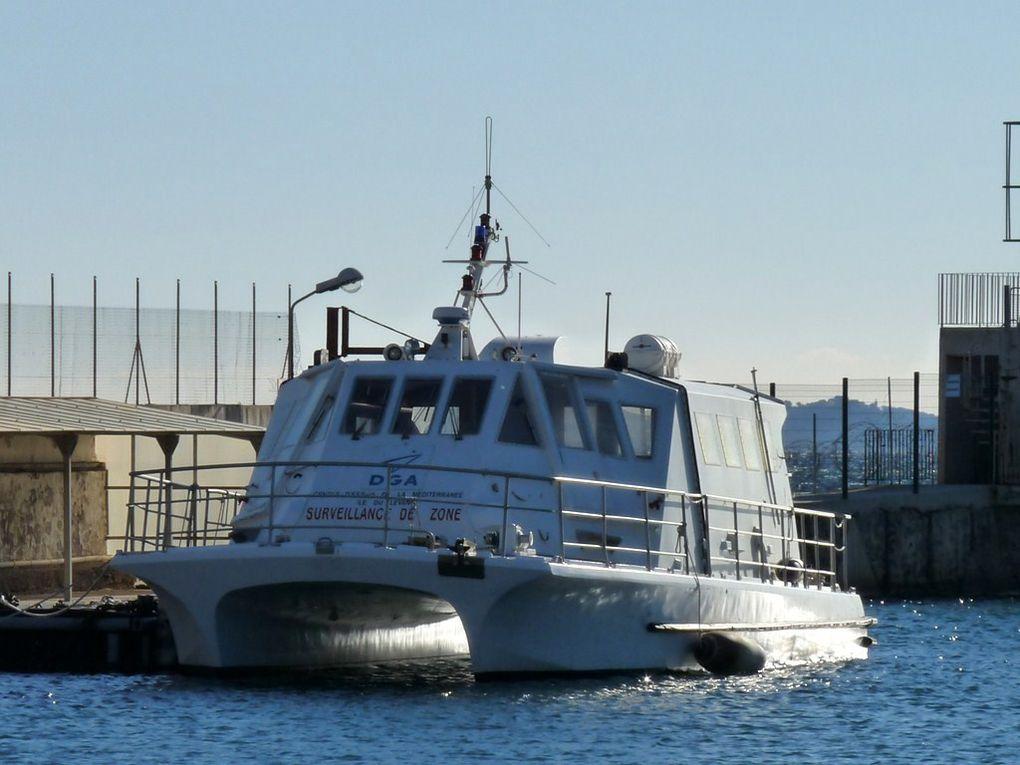 PERCE NEIGE  , vedette de surveillance au Centre d'essais de la méditerranée (CEM)