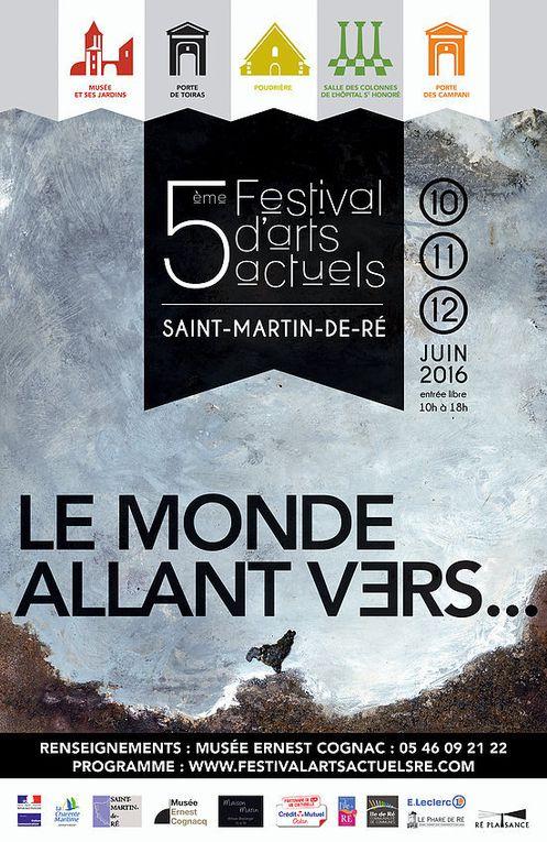Festival Arts Actuels 2016 ïle de Ré