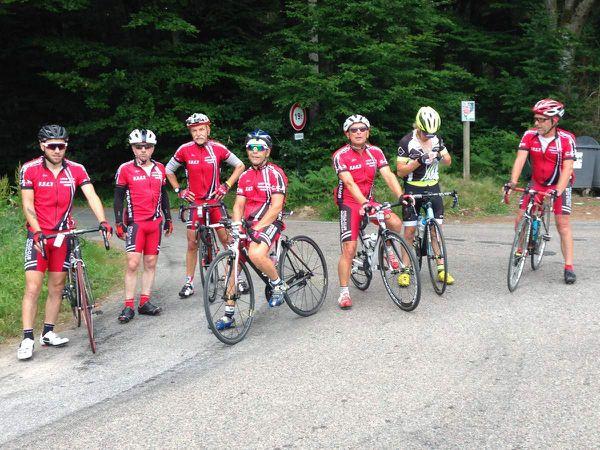 Pour ce dimanche 25 juin, ils étaient 12 cyclos au RDV pour cette sortie sur Remiremont...