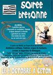 Soirée Bretonne de l'Association des parents d'élèves de l'école de Ceton, le samedi 8 octobre 2016