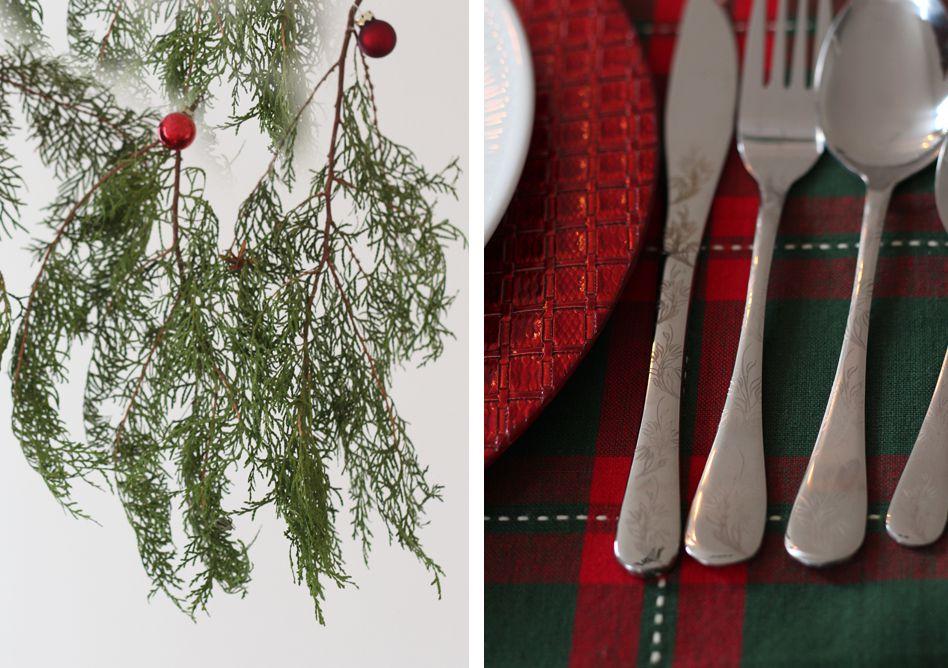 Une Table de Noël dans l'esprit Traditionnel