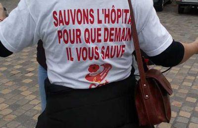 Hôpital de Saint-Gaudens : lundi, 1er jour du déconfinement, c'est préavis de grève et appel au rassemblement