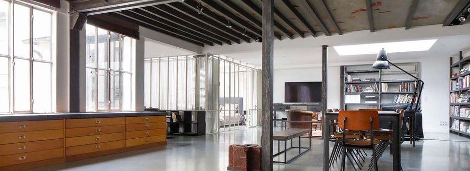 Le loft parisien d'Andrée Putman puis celui de Peter Lindbergh. À vendre