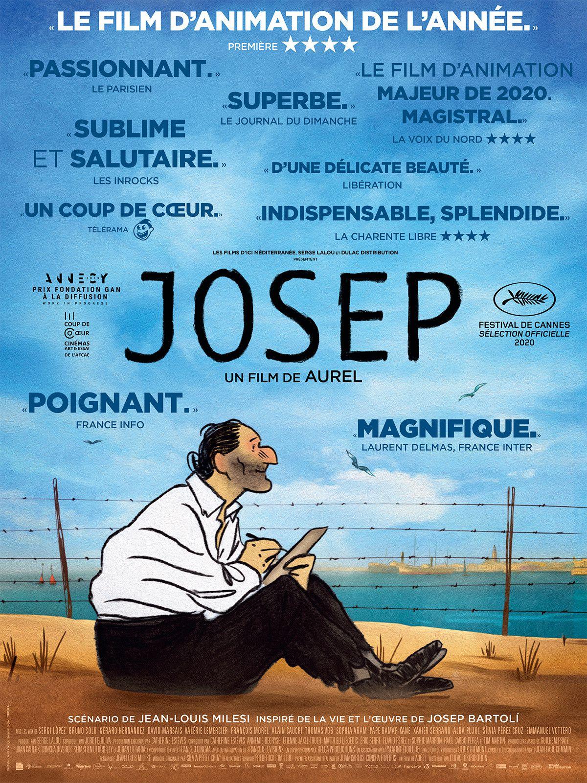Film d'animation Josep, Espagne, Franquisme, Aurel, réfugiés espagnols