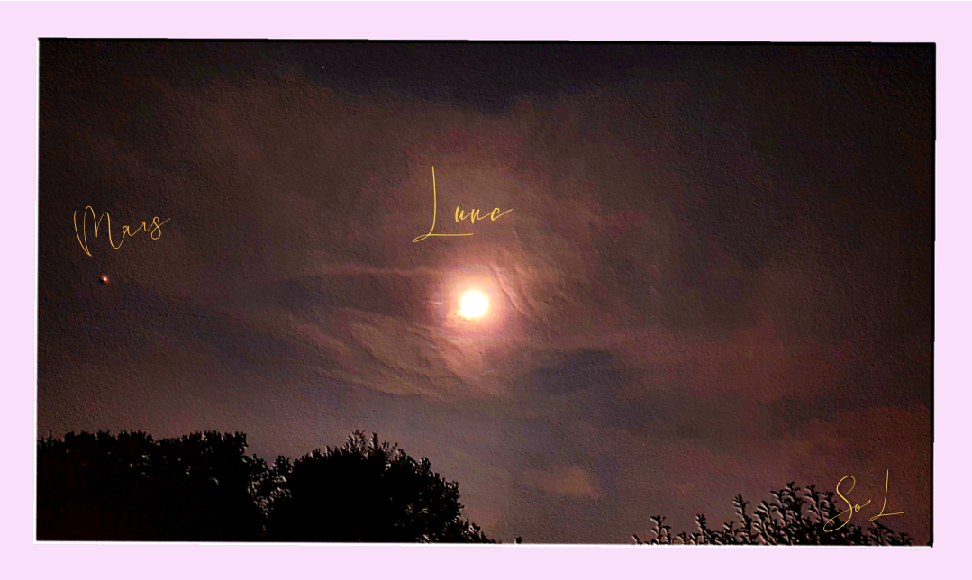 De Mars à la Lune...