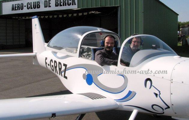 """"""" ENVIE DE PILOTER """"...à L'AERODROME DE BERCK SUR MER..."""