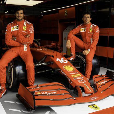 Gros changement pour la livrée Ferrari