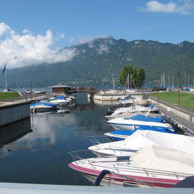 promenade lac du bourget
