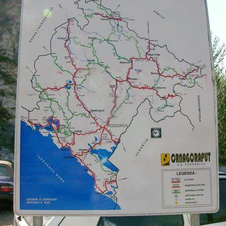 Lac de Skoder (Monténègro en camping-car)