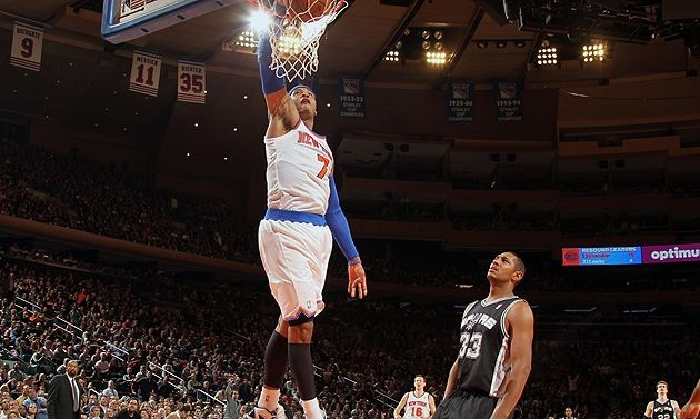 Les Knicks stoppent la série des Spurs à New York