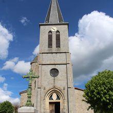 Église Saint-Hippolyte d'Eglisolles (63840 Puy-de-dôme)