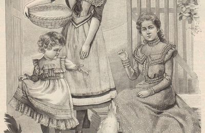 A la ferme en 1899