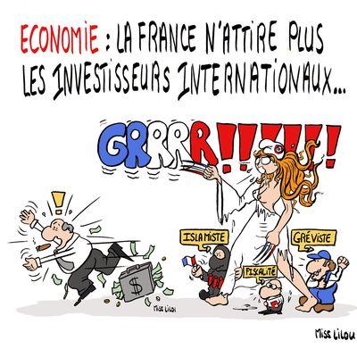 Economie : la France n'attire plus les investisseurs internationaux !