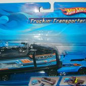 TRUCKIN' TRANSPORTERS CAMION HOT WHEELS AVEC ACCELIUM - car-collector.net