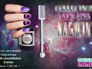 Vernis cast'eyes des constellations sur vos ongles !