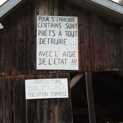 Le DESSOUBRE SOUFFRE, LES POISSONS CREVENT