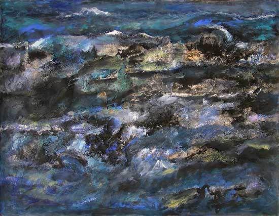 Peintures de Janine Bailliez - Lucienne Cywier - Madeleine Gautier-Brun