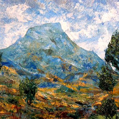 hommage a cezanne