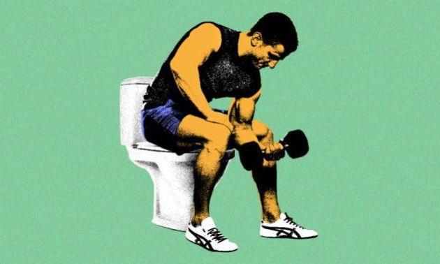 Est-ce que l'entraînement cause souvent de la diarrhée?