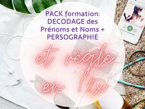 PACK PERSOGRAPHIE + DECODAGE DES PRENOMS