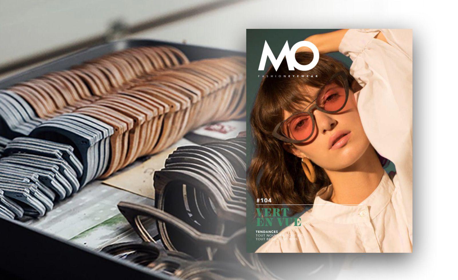 Vert en vue dans MO Fashion Eyewear...