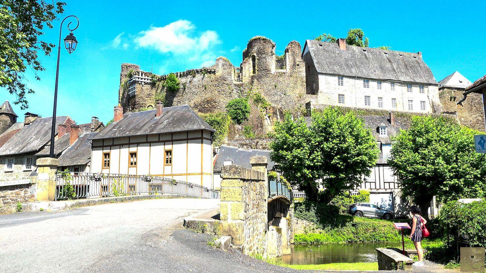 Ségur le Château, la capitale judiciaire de la Corrèze au temps des rois, un des plus beaux villages de France, le film