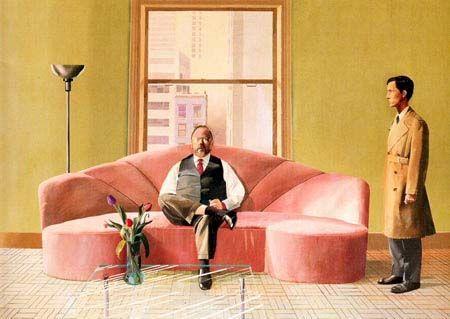David Hockney, rétrospective au Centre Pompidou