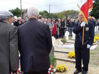 Photos du 11 Novembre 2018, au carré militaire du cimetière d'uzès (30)